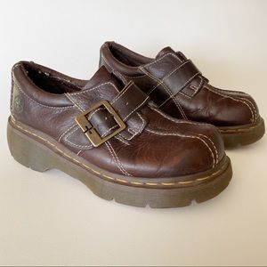 DOC MARTENS Vintage Chunky Sole Buckle Straps 7